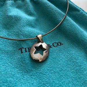 Tiffany & Co. sterling silver star necklace